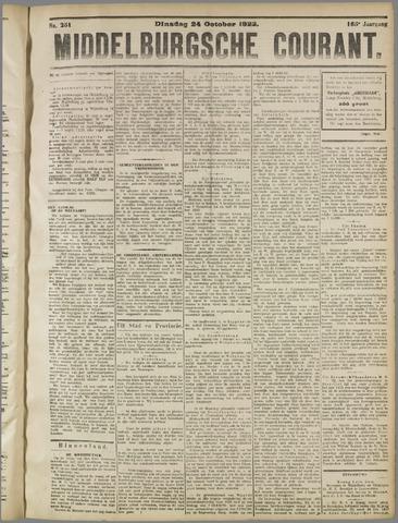 Middelburgsche Courant 1922-10-24
