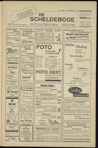 Scheldebode 1954-04-09