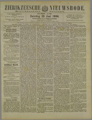 Zierikzeesche Nieuwsbode 1906-06-23