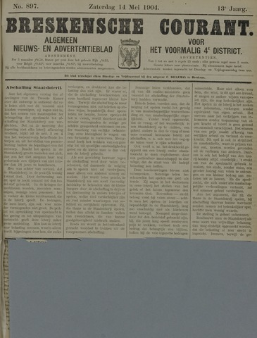 Breskensche Courant 1904-05-14