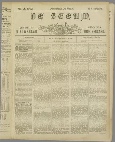 De Zeeuw. Christelijk-historisch nieuwsblad voor Zeeland 1902-03-20