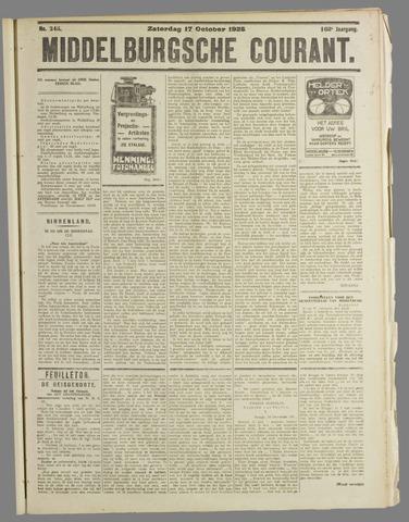 Middelburgsche Courant 1925-10-17