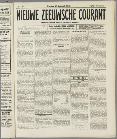 Nieuwe Zeeuwsche Courant 1909-01-26