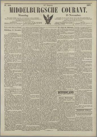 Middelburgsche Courant 1897-11-15
