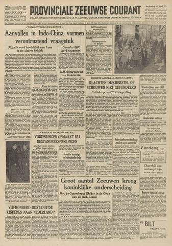 Provinciale Zeeuwse Courant 1953-04-30