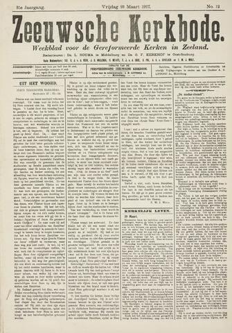 Zeeuwsche kerkbode, weekblad gewijd aan de belangen der gereformeerde kerken/ Zeeuwsch kerkblad 1917-03-23