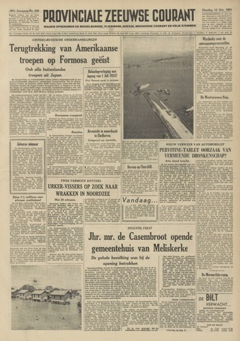 Provinciale Zeeuwse Courant 1954-10-12