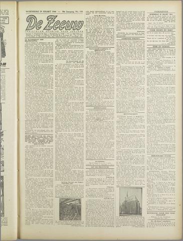 De Zeeuw. Christelijk-historisch nieuwsblad voor Zeeland 1944-03-29