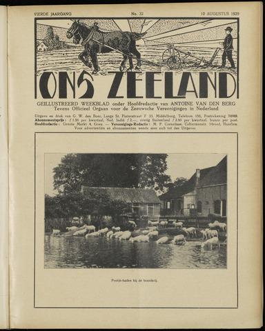 Ons Zeeland / Zeeuwsche editie 1929-08-10