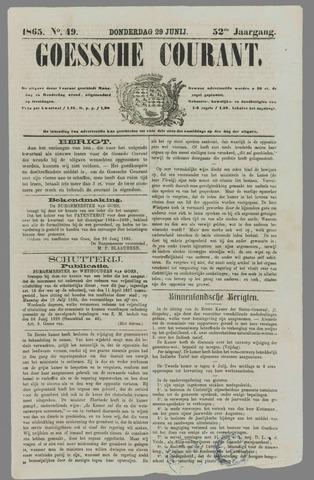 Goessche Courant 1865-06-29