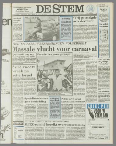 de Stem 1986-02-05