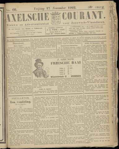 Axelsche Courant 1922-11-17