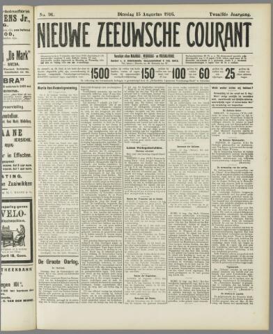 Nieuwe Zeeuwsche Courant 1916-08-15