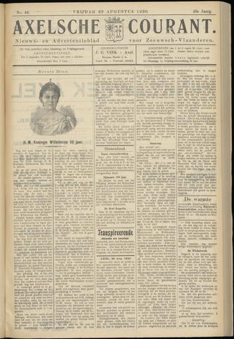 Axelsche Courant 1930-08-29