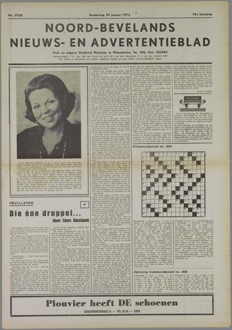 Noord-Bevelands Nieuws- en advertentieblad 1973-01-25