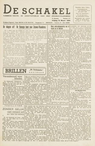 De Schakel 1954-03-12