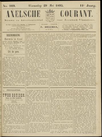 Axelsche Courant 1895-05-29