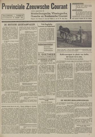 Provinciale Zeeuwse Courant 1941-03-15