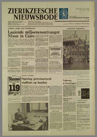 Zierikzeesche Nieuwsbode 1974-06-13