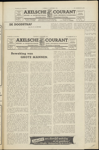 Axelsche Courant 1951-09-05