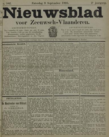 Nieuwsblad voor Zeeuwsch-Vlaanderen 1893-09-09