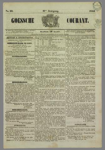 Goessche Courant 1854-03-20