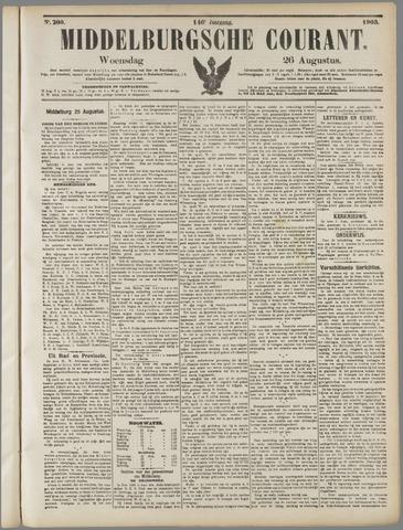 Middelburgsche Courant 1903-08-26