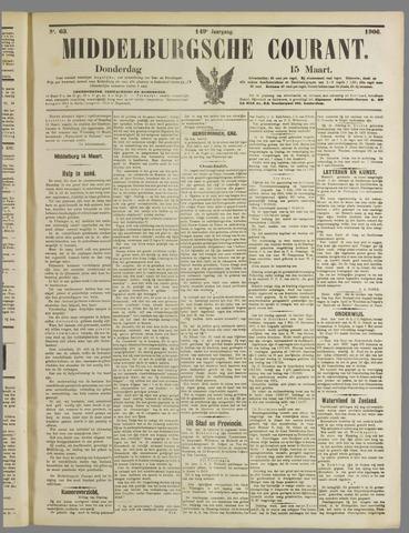 Middelburgsche Courant 1906-03-15