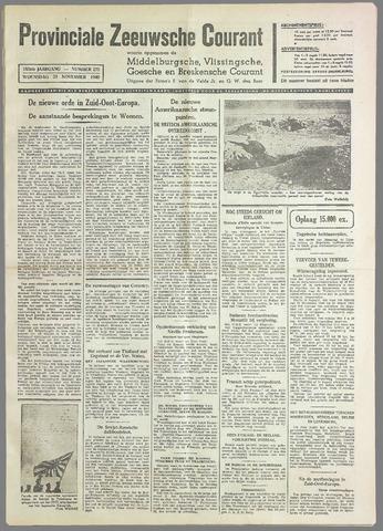 Provinciale Zeeuwse Courant 1940-11-20