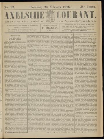 Axelsche Courant 1916-02-23