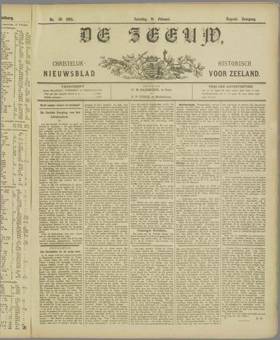 De Zeeuw. Christelijk-historisch nieuwsblad voor Zeeland 1895-02-16