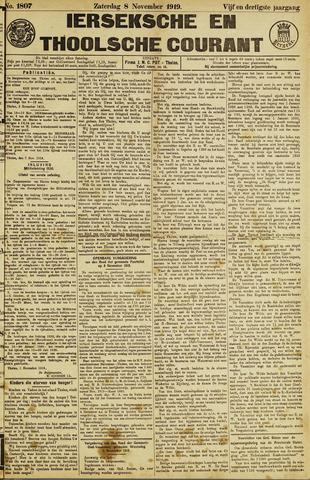 Ierseksche en Thoolsche Courant 1919-11-08