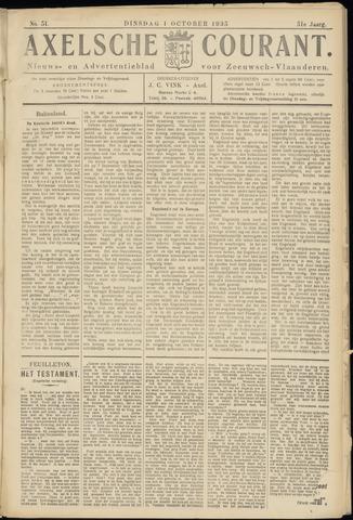 Axelsche Courant 1935-10-01