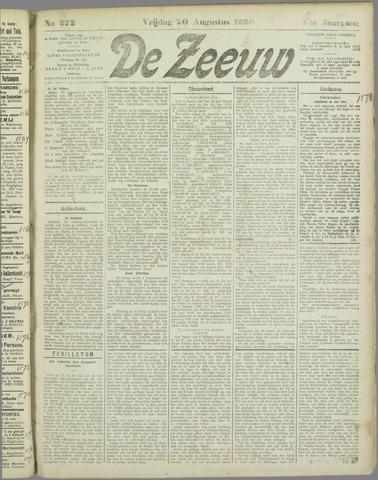 De Zeeuw. Christelijk-historisch nieuwsblad voor Zeeland 1920-08-20