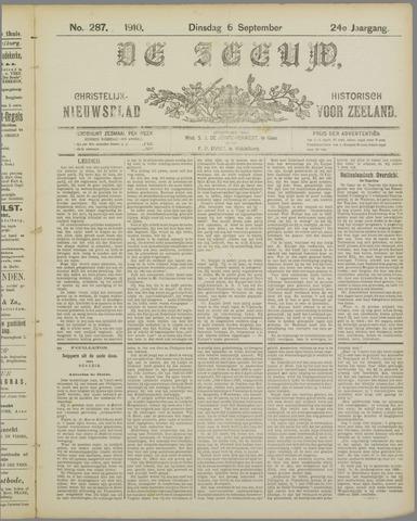 De Zeeuw. Christelijk-historisch nieuwsblad voor Zeeland 1910-09-06