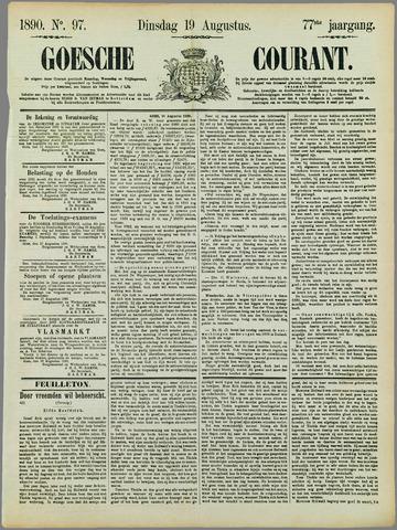 Goessche Courant 1890-08-19