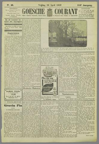 Goessche Courant 1927-04-15