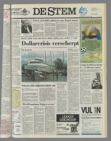 de Stem 1992-08-25