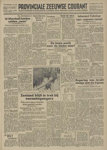 Provinciale Zeeuwse Courant 1948-06-23