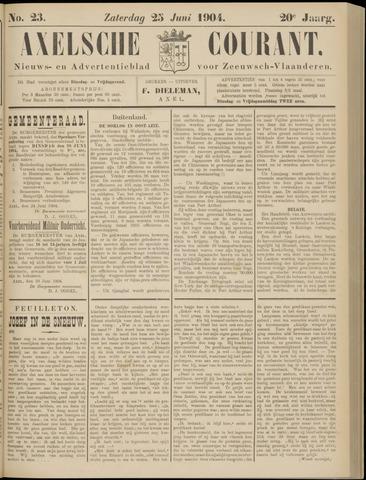 Axelsche Courant 1904-06-25