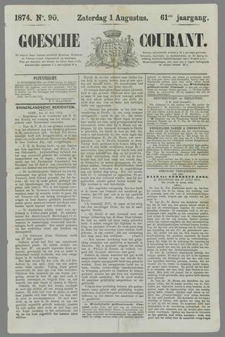 Goessche Courant 1874-08-01