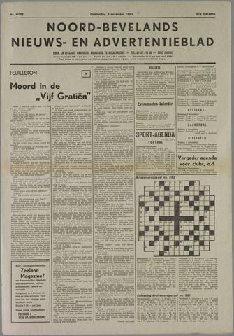 Noord-Bevelands Nieuws- en advertentieblad 1983-11-03
