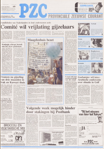 Provinciale Zeeuwse Courant 1990-10-30
