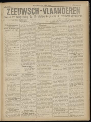 Luctor et Emergo. Antirevolutionair nieuws- en advertentieblad voor Zeeland / Zeeuwsch-Vlaanderen. Orgaan ter verspreiding van de christelijke beginselen in Zeeuwsch-Vlaanderen 1918-06-29