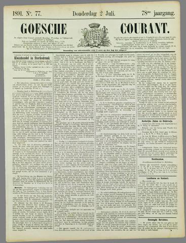 Goessche Courant 1891-07-02