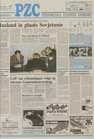 Provinciale Zeeuwse Courant 1991-12-27