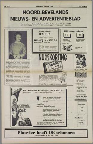 Noord-Bevelands Nieuws- en advertentieblad 1962-08-04