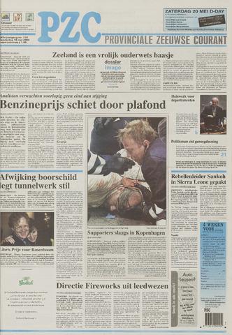 Provinciale Zeeuwse Courant 2000-05-18