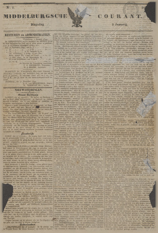 Middelburgsche Courant 1844