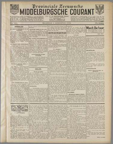 Middelburgsche Courant 1930-08-04